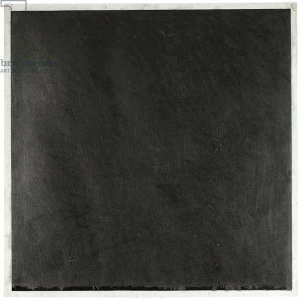 Untitled, 1966 (graphite and beeswax on printed paper)