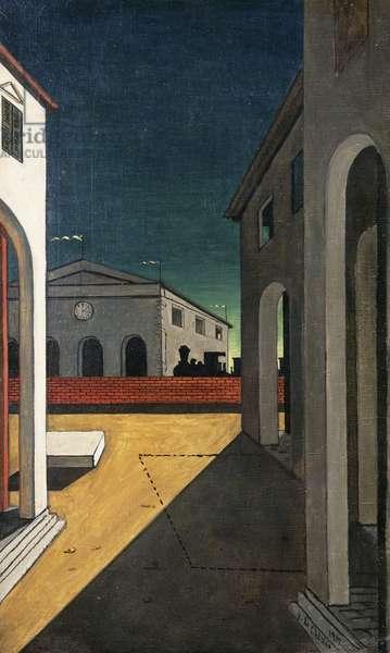 Turinese Melancholia; Malinconia Torinese, c.1938-1940 (oil on canvas)