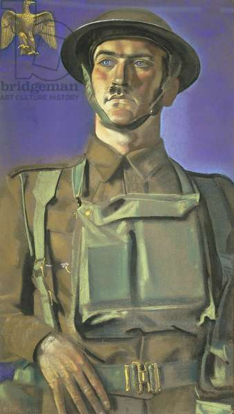 Sergeant-Major A, 1942 (pastel)