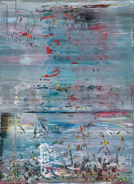 Abstraktes Bild, 1990 (oil on canvas)