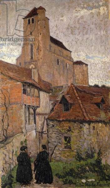The Village; Le Village, 1921 (oil on canvas)