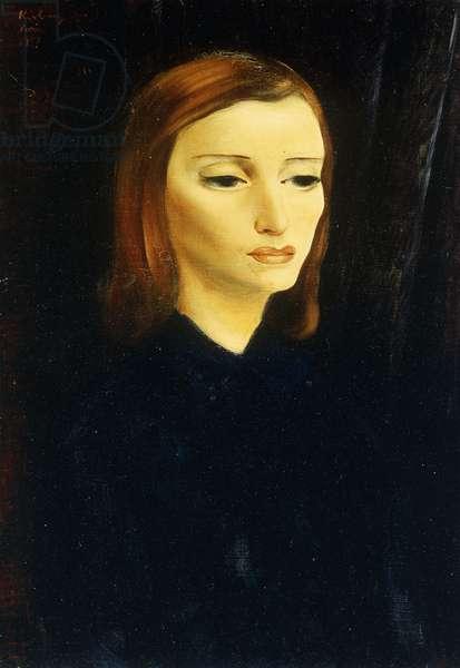 Femme, 1947 (oil on canvas)