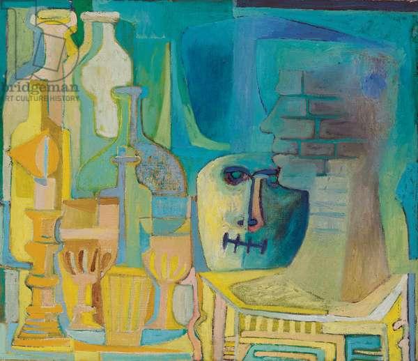 Still Life, 1958 (oil on canvas)