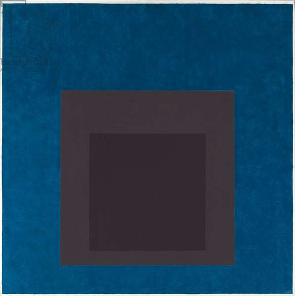 Homage to the Square, 1966 (oil on masonite)