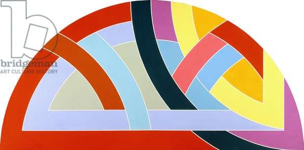 Protractor Variation VI, 1968 (liquitex on canvas)