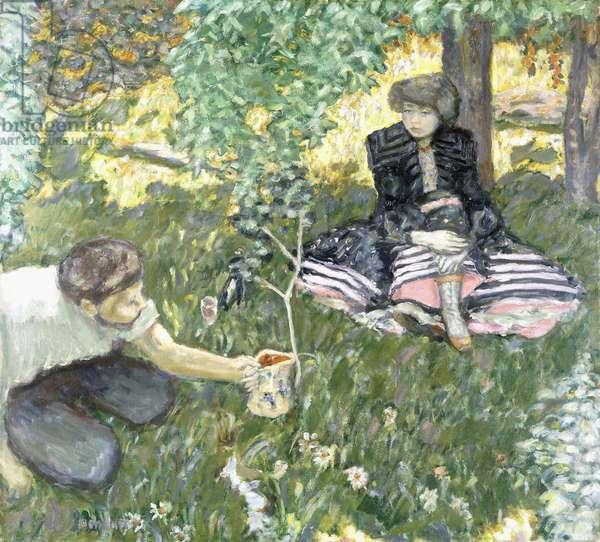 Plaisir de Campagne ou Le Jardinier, 1908 (oil on canvas)