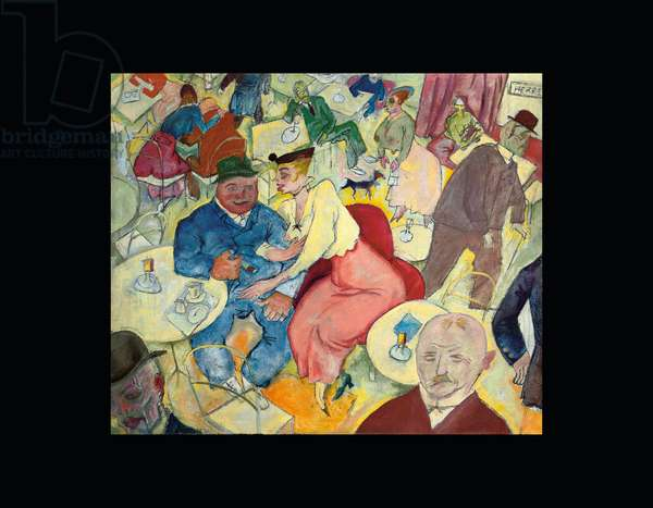 Caféhaus, 1915 (oil on canvas)