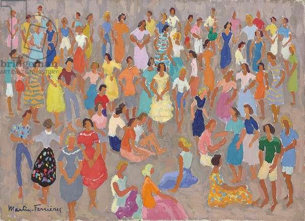 The Festival, c.1950 (oil on canvas)