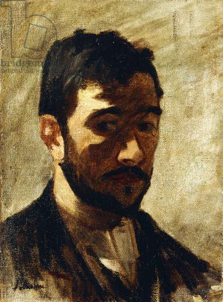 Portrait of the Artist, 1888 (oil on canvas)