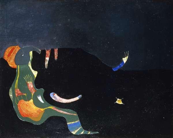 Figure Zoomorphe, 1928 (oil on canvas)