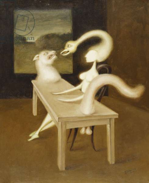 Fascination, 1939 (oil on canvas)