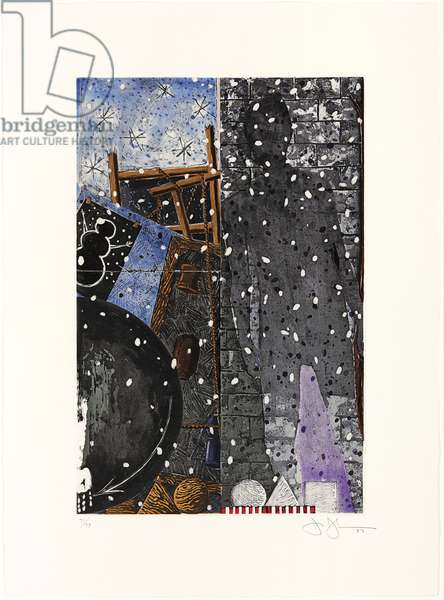 The Seasons: Winter, 1987 (colour etching & aquatint) (see also 710809-12)