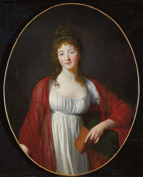Portrait of Diane de Simiane, c.1800 (oil on canvas)
