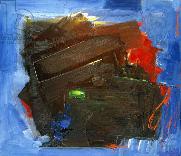 Nocturn, 1962 (oil on canvas)