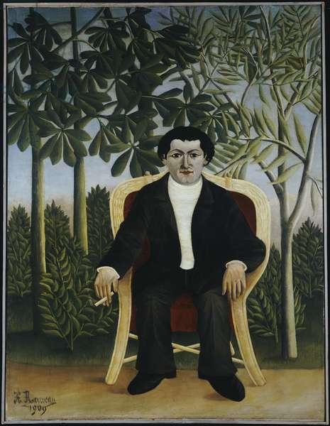 Portrait of Joseph Brummer, 1909 (oil on canvas)