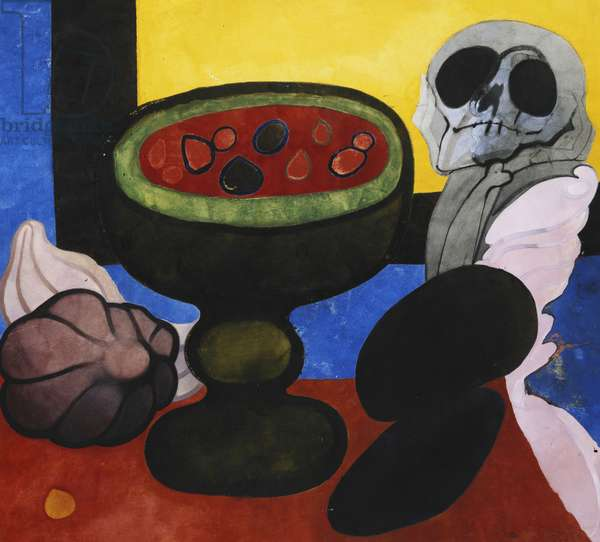 Still Life, 1964-5 (watercolour and bodycolour)
