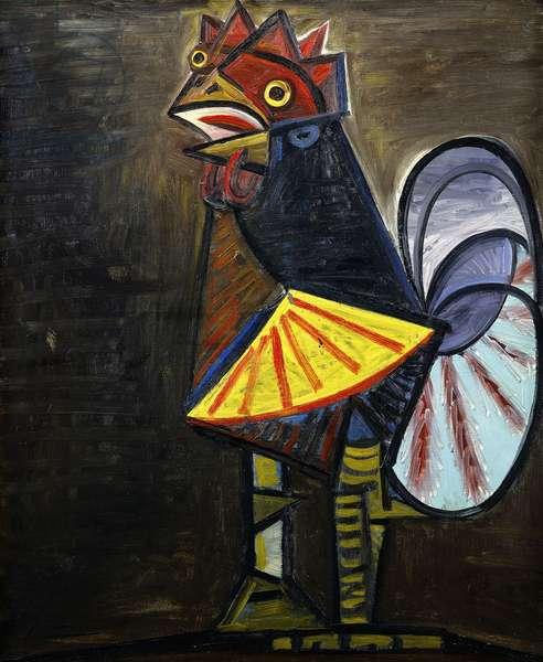 Cockerel; Le Coq, 1943 (oil on canvas)