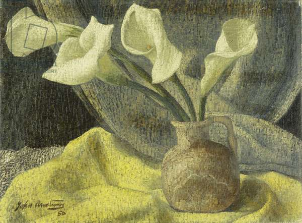 Lilies in a Jug, 1956 (oil on canvas)