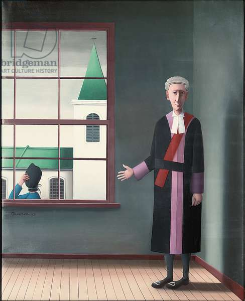 Free Will, 1993 (oil on canvas)