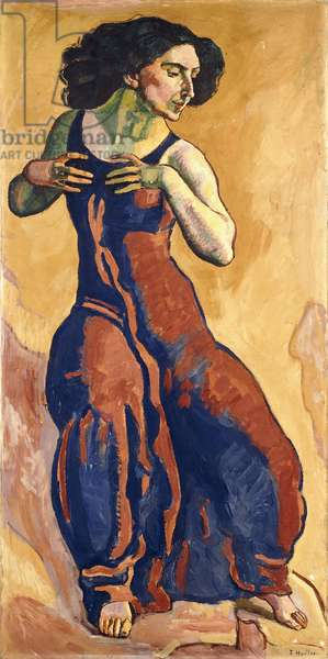 Woman in Ecstasy, 1911 (oil on canvas)