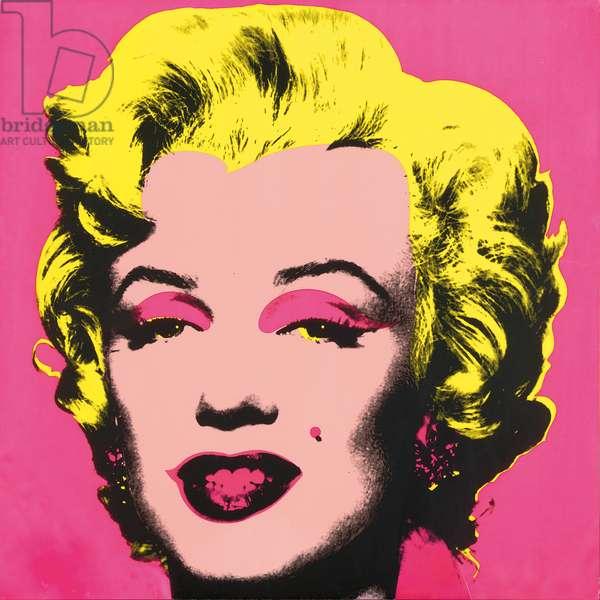 Marilyn Monroe (Marilyn), 1967 (screenprint) (see also 930711-19)