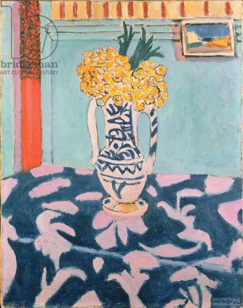 Coucous sur le Tapis Bleu et Rose, 1911