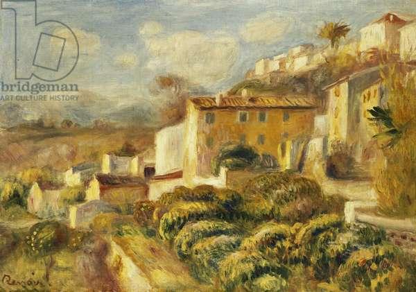 View of the Post Office, Cagnes; Vue de la Poste, Cagnes, 1907 (oil on canvas)