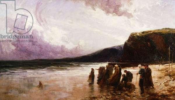 Anxious Hearts, 1894 (oil on canvas)
