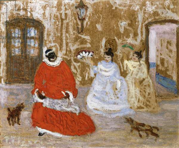 House Recommendations to the Slave Queen, 1932 (oil on board)