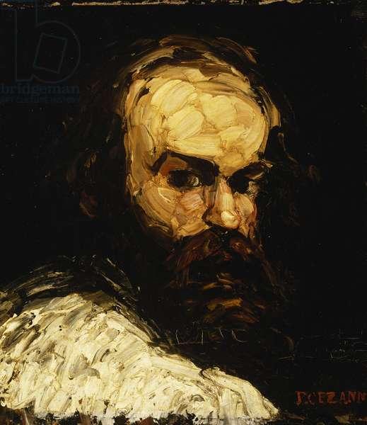 Portrait of the Artist; Portrait de l'Artiste, c.1866 (oil on canvas)