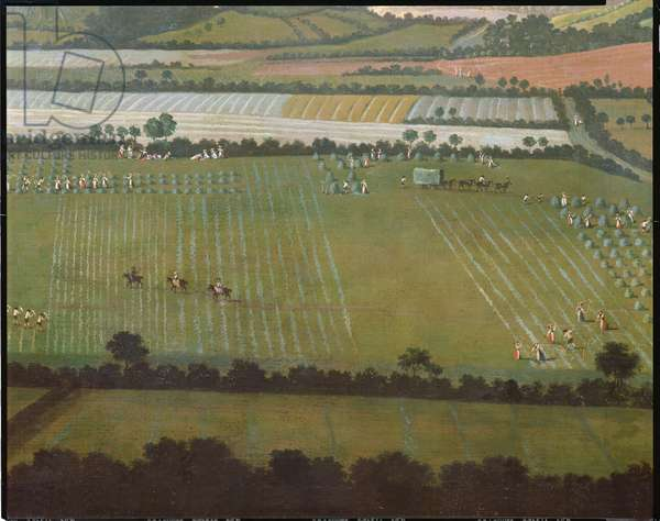 Country Round Dixton Manor, c.1725 (oil on canvas) (detail of 18102)