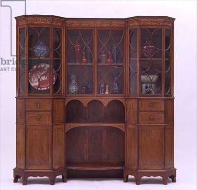 Cabinet designed by George Jack (1855-1932) and made by Morris & Company, c.1902 (mahogany)