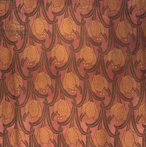 Arts and Crafts textile, c.1900-10 (cotton)
