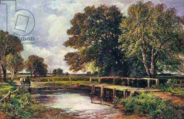 The Ford, 1890 (oil on canvas)