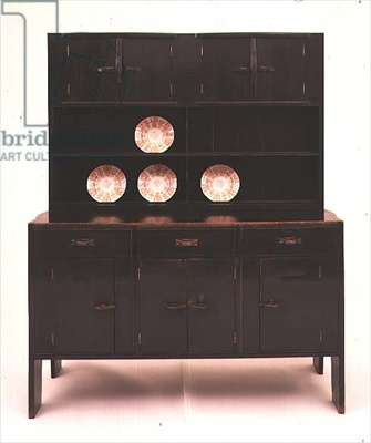 Dresser designed by Ernest Gimson (1864-1919), c.1902-5 (stained oak)