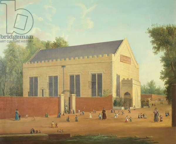 Cheltenham Infants School, 1832 (oil on canvas)