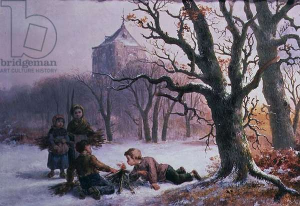 Children Playing in the Snow, 1884