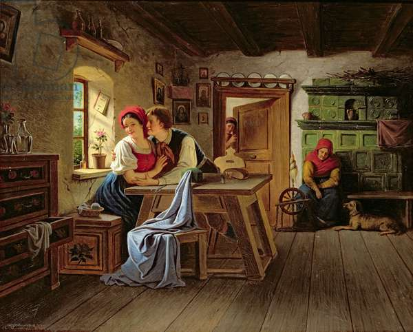 Lovers in the Kitchen
