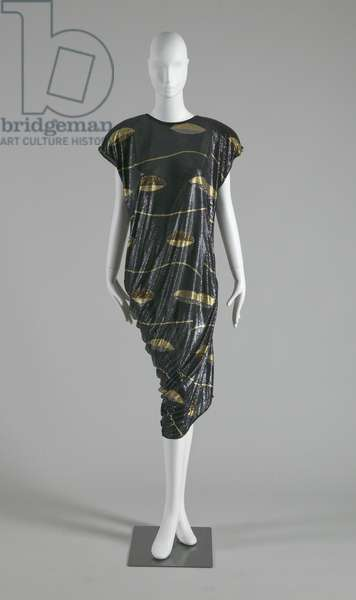 Dress, 1985 (front view), Gianni Versace.
