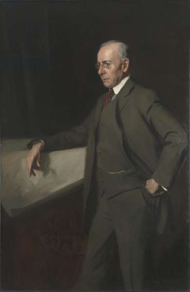 Portrait of Louis Henri Sullivan, 1919 (oil on canvas)