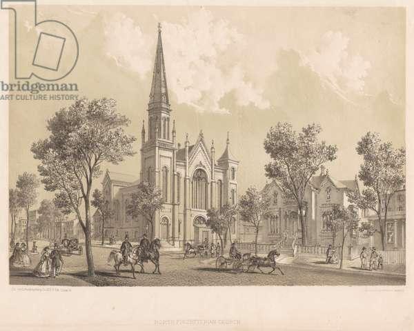 North Presbyterian Church, Chicago, Illinois, 1866 (litho)