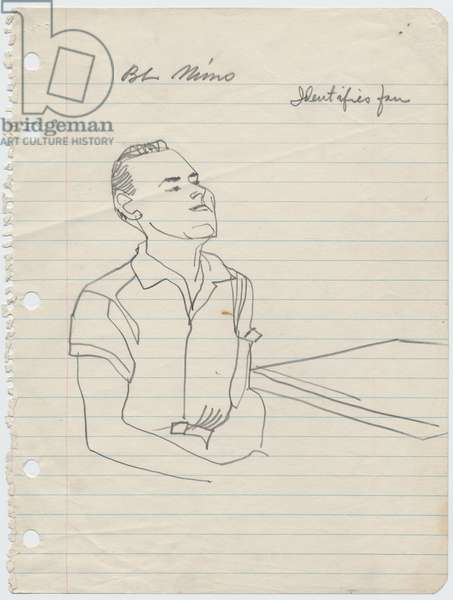 B. L. Mims, 1955 (pencil on paper)
