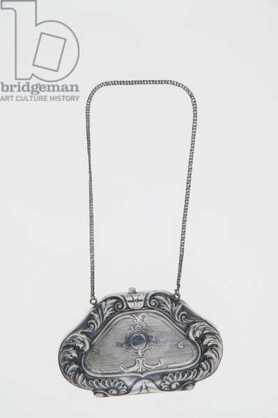 Purse, 1863, Silver, No label