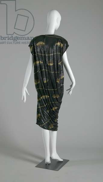 Dress, 1985 (back oblique view), Gianni Versace.