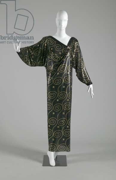 Evening dress, 1985 (front oblique view), Gianni Versace.