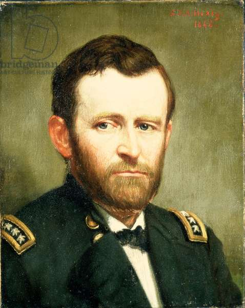 Ulysses S. Grant, 1844 (oil on canvas)
