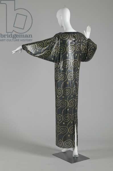 Evening dress, 1985 (back oblique view), Gianni Versace.