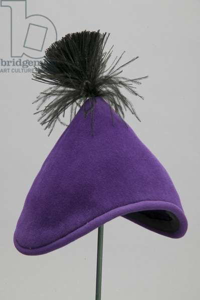 Hat, c.1955 (oblique view), Silk velvet, Christian Dior, Paris