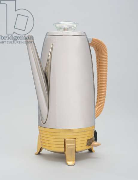 Electric percolator manufactured by Cory Corporation, 1954