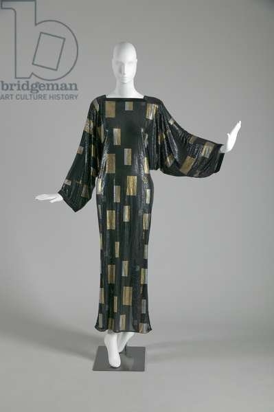 Evening dress, 1985 (front view), Gianni Versace.